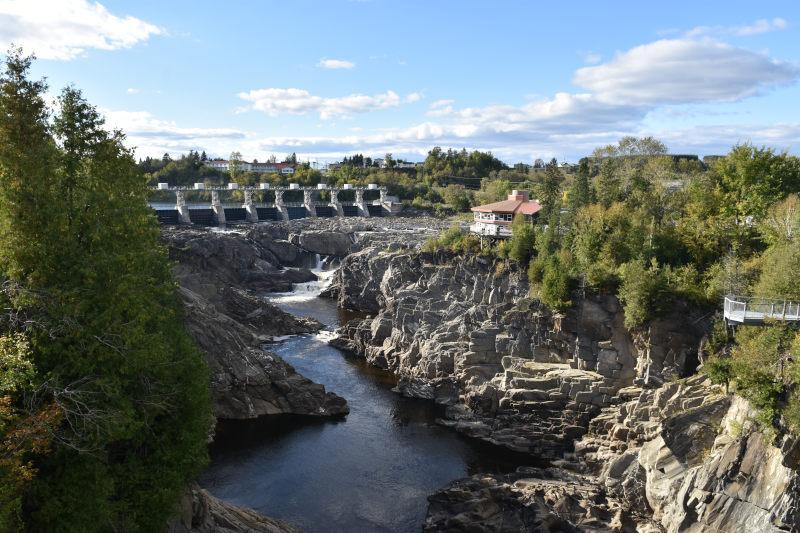 die Grand Falls