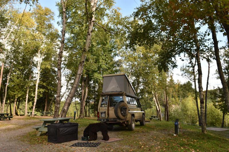 Nebensaison auf dem Campingplatz