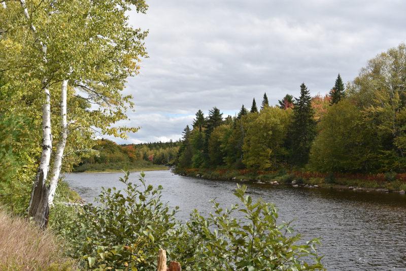 Pause am Fluss