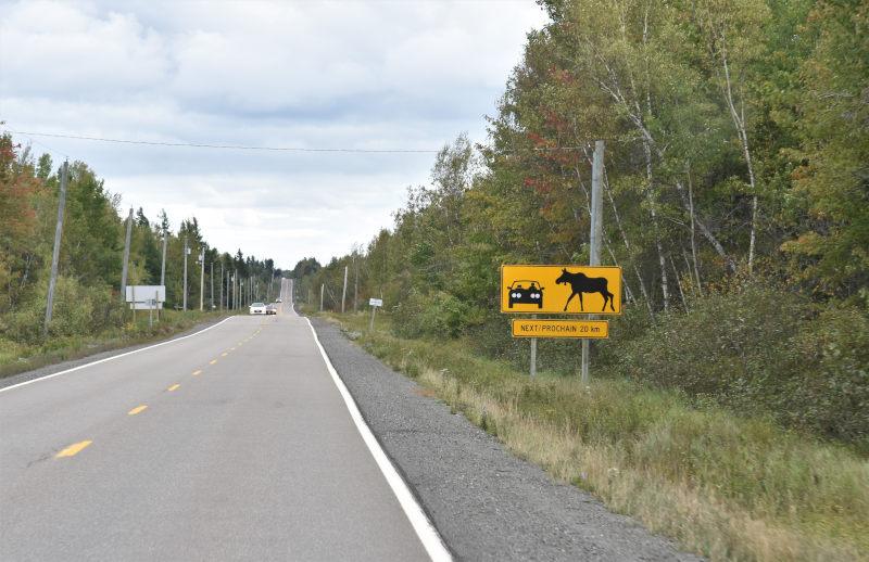 Richtung Nova Scotia