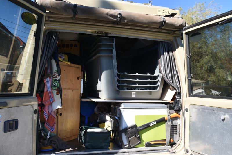 auf geht die Fuhre auf den Campingplatz